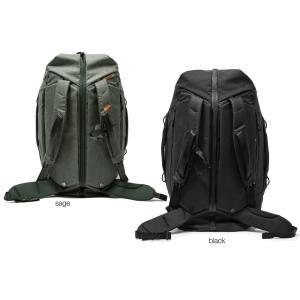 peakdesign トラベルダッフルパック 65L [ブラックBTRDP-65-BK-1/セージB...
