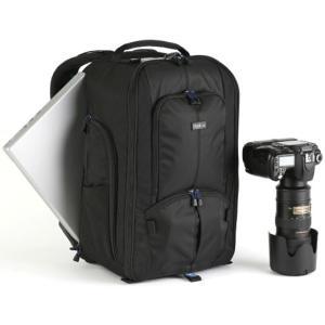 レンズ+カメラ+PCバックパックバッグ