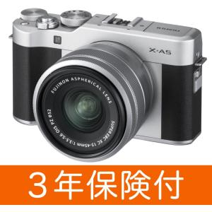 ※「FUJIFILM X-A5ブシルバー(ブラック貼革)」と「F XC15-45MMF3.5-5.6...