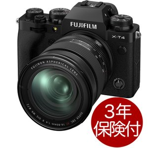 FUJIFILM X-T4 Black XF16-80mm レンズキットブラック ミラーレス一眼デジ...