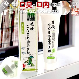 「3個セット」 伝統爽快 なた豆歯磨き粉 (120g) 柿渋配合 人気 口臭 スッキリ すっきり な...