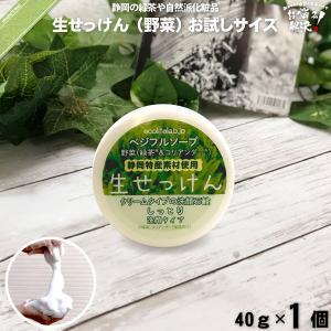 旬の 生せっけん VEG 野菜 (40g) 洗顔 洗顔石鹸 石鹸 石けん 生石鹸 生石けん しっとり...