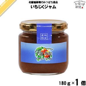いちじくジャム (180g) 藤井養蜂場 「5250円以上で送料無料」 mitsubachi-road