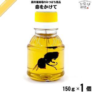 命をかけて スズメバチの蜂蜜漬 (150g)|mitsubachi-road