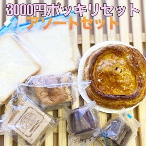 3000円 ポッキリ 送料無料 アップルパイ 小 1個 カヌレ 2種類 1個ずつ 食パン 2枚 紅茶シフォンケーキ キューブ 2個|mitsubachi044