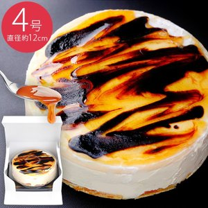天使のプリンケーキ(4号・12cm) プリン ケーキ カスタード カラメル スイーツ ギフト プレゼント パーティ 贈り物 贈答 手土産 冷凍|mitsuboshi