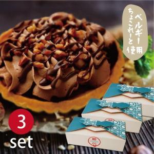 結心 cocoro −ベルギーちょこ−(2個入×3セット)/ チョコ タルト ギフト プレゼント スイーツ ご挨拶 お祝い 贈り物 バレンタイン|mitsuboshi