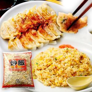 <TVで話題>【板橋】冷凍チャーハン1kg×黒豚生餃子セット|mitsuboshi