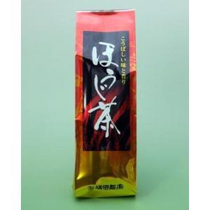 ほうじ茶 180g 自家焙煎|mitsuda-seicha