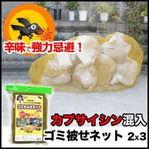 カラス撃退! ゴミネット ゴミ被せネット 2×3m|mitsugiron