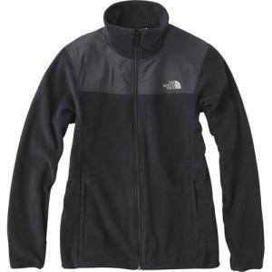 ◆軽量で優れた保温性を持つマイクロフリース素材を採用したジャケット。パックのショルダーベルトが当たる...