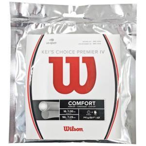 ウィルソン Wilson KEI'S CHOICE PREMIER IV テニス 硬式ガット  WR...
