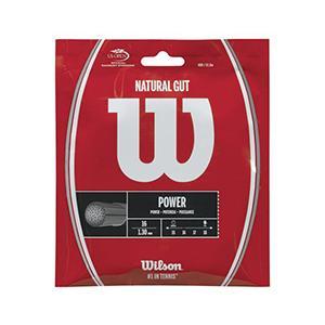 ウィルソン Wilson NATURAL GUT 16 テニス 硬式ガット  WRZ999800
