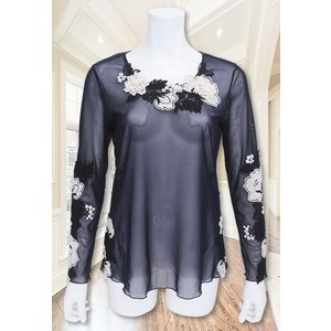 amitie(アミティエ)/Tシャツ/紺/AM184931|mitsuki-web