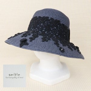 amitie(アミティエ)/帽子/紺/AM191666|mitsuki-web