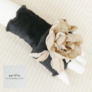 amitie(アミティエ)/ヒートカフス/ベージュ/AM193604|mitsuki-web
