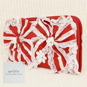 amitie(アミティエ)/財布/アカ/AM201679|mitsuki-web
