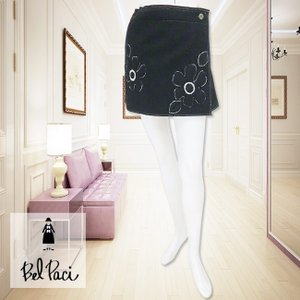 BelPaci(ベルパーチ)/ラップスカート/黒/BP41167|mitsuki-web