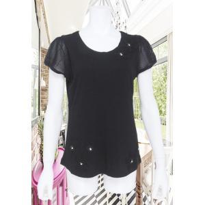 BelPaci(ベルパーチ)/Tシャツ/黒/BP51444|mitsuki-web