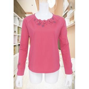 BelPaci(ベルパーチ)/Tシャツ/ピンク/BP51484|mitsuki-web