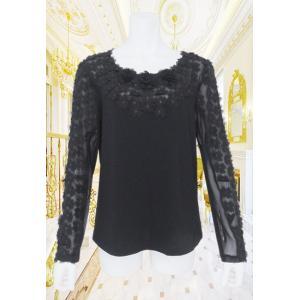 BelPaci(ベルパーチ)/Tシャツ/黒/BP51486|mitsuki-web