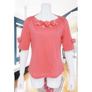 BelPaci(ベルパーチ)/Tシャツ/ピンク/BP51492|mitsuki-web