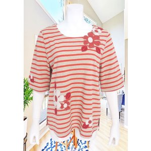 BelPaci(ベルパーチ)/Tシャツ/アカ/BP51508|mitsuki-web