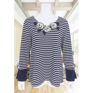 BelPaci(ベルパーチ)/Tシャツ/紺/BP51543|mitsuki-web