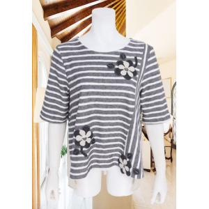 BelPaci(ベルパーチ)/Tシャツ/グレー/BP51574|mitsuki-web