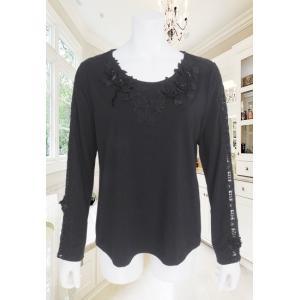 BelPaci(ベルパーチ)/Tシャツ/黒/BP51597 mitsuki-web