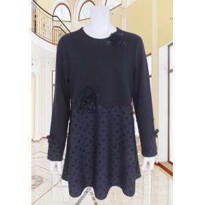 BelPaci(ベルパーチ)/ロングTシャツ/紺/BP51603|mitsuki-web
