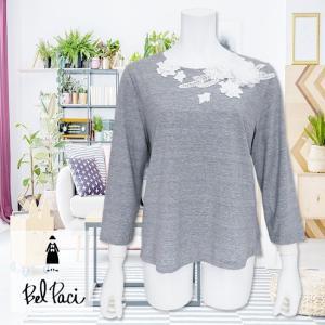 BelPaci(ベルパーチ)/Tシャツ/グレー/BP51624|mitsuki-web
