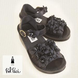 BelPaci(ベルパーチ)/サンダル/黒/BP80409|mitsuki-web