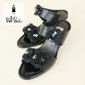 BelPaci(ベルパーチ)/ミュール/黒/BP80455|mitsuki-web