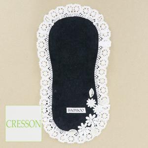 CRESSON(クレソン)/プチタオル/黒/C91130|mitsuki-web