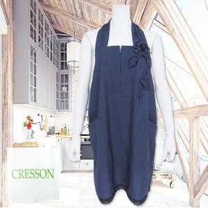 CRESSON(クレソン)/ジャンパースカート/紺/C915456|mitsuki-web
