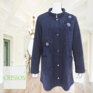 CRESSON(クレソン)/ジャケット/紺/C91582◆セール30%オフ|mitsuki-web