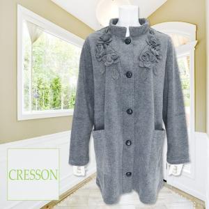 CRESSON(クレソン)/ジャケット/グレー/C91634|mitsuki-web