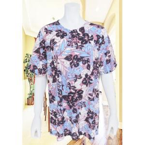CANAC(キャナック)/Tシャツ/ブルーxピンク/CA5518313|mitsuki-web
