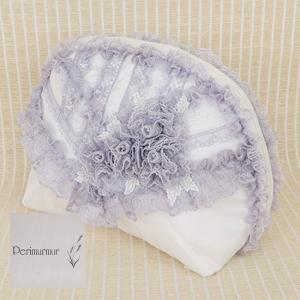 Perimurmur(ピアリマーマ)/ポーチ/オフxパープル/KH7639|mitsuki-web