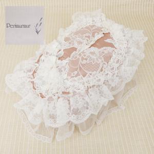 Perimurmur(ピアリマーマ)/ティッシュボックスカバー/ローズxアイボリー/KN7748|mitsuki-web