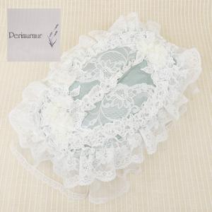 Perimurmur(ピアリマーマ)/ティッシュボックスカバー/グリーンxアイボリー/KN7748|mitsuki-web