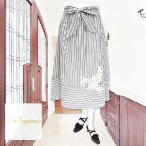 LeSentier(ルセンティエ)/スカート/紺/LS0050322|mitsuki-web