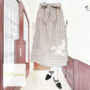 LeSentier(ルセンティエ)/スカート/茶/LS0050322|mitsuki-web