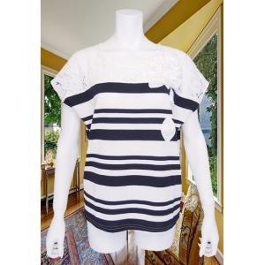 LeSentier(ルセンティエ)/Tシャツ/紺/LS7030205|mitsuki-web