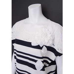 LeSentier(ルセンティエ)/Tシャツ/紺/LS7030205|mitsuki-web|04