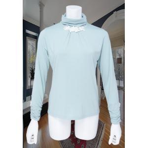 LeSentier(ルセンティエ)/Tシャツ/ブルー/LS7050206|mitsuki-web