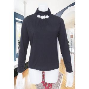 LeSentier(ルセンティエ)/Tシャツ/黒/LS7050206|mitsuki-web