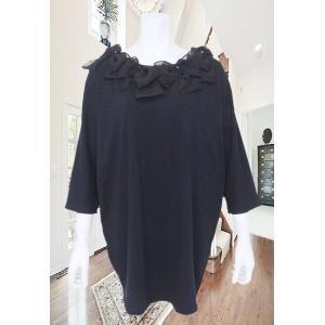 LeSentier(ルセンティエ)/Tシャツ/黒/LS7060207|mitsuki-web