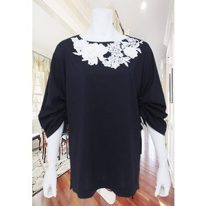 LeSentier(ルセンティエ)/Tシャツ/紺/LS7070208|mitsuki-web